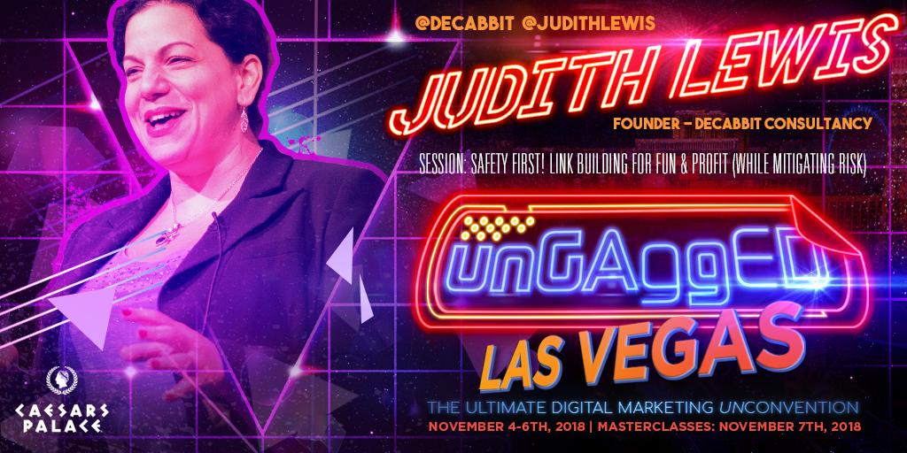 Judith Lewis UnGagged 2018