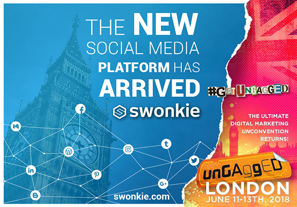 Swonkie at UnGagged London 2018