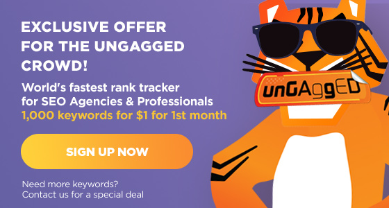 Accuranker offer for UnGagged crowd