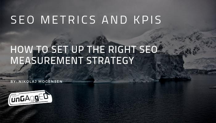 SEO metrics and KPIs