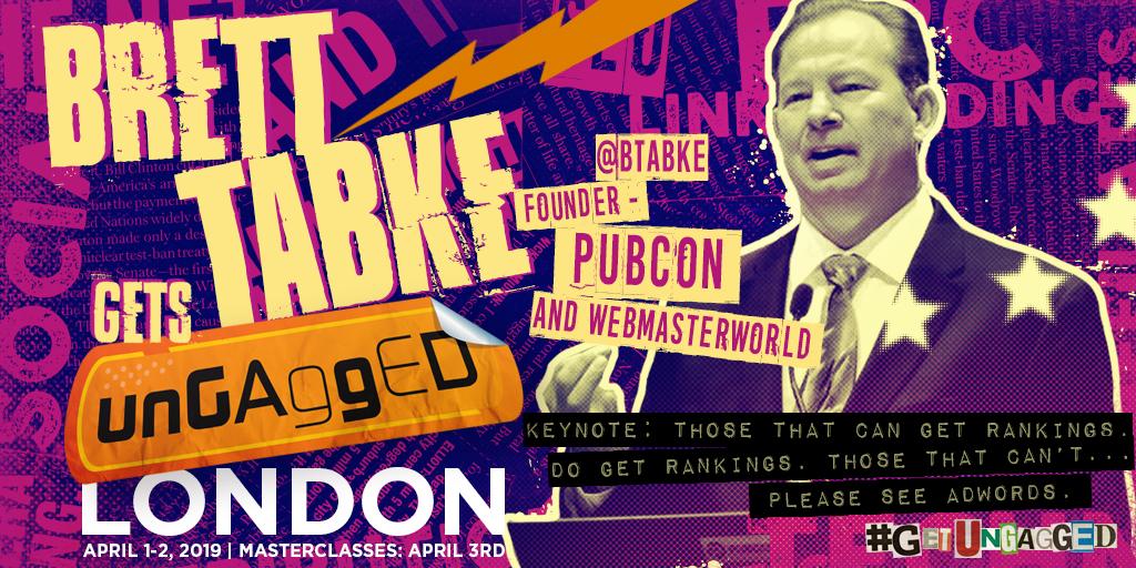 Brett Tabke Founder - Pubcon & WebmasterWorld