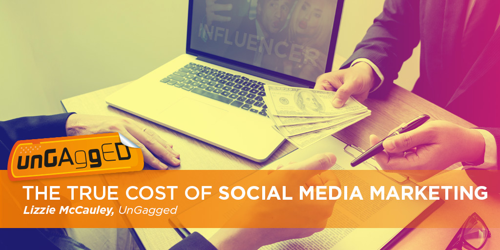 The true cost of social media marketing