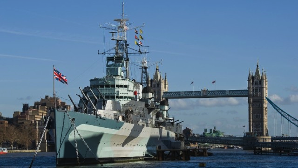 HMS Belfast, London Thames